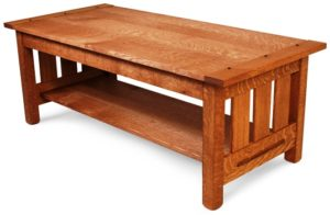 Arts And Crafts Coffee Table As Seen In Fine Woodworking Magazine